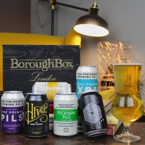 Award Winning London Beer Gift Box - £19.99!