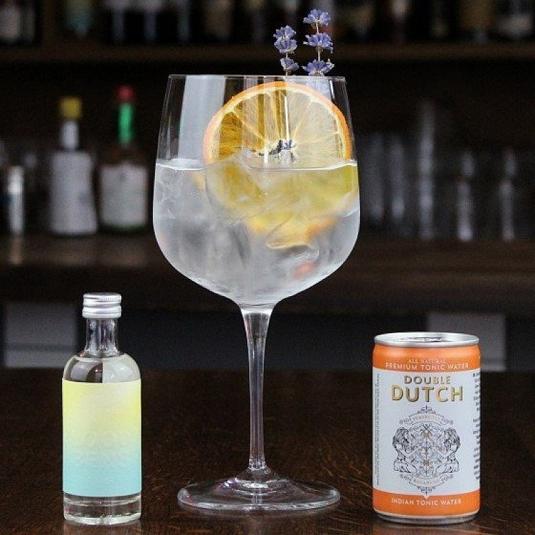 Gin & Tonic Gift For One featuring ****** Bens Gin, Dutch Tonic Water &  Drinking Glass £11.99!
