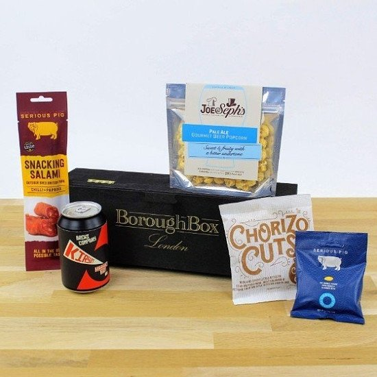 Beer and Snacks Presentation Box - £19.99!