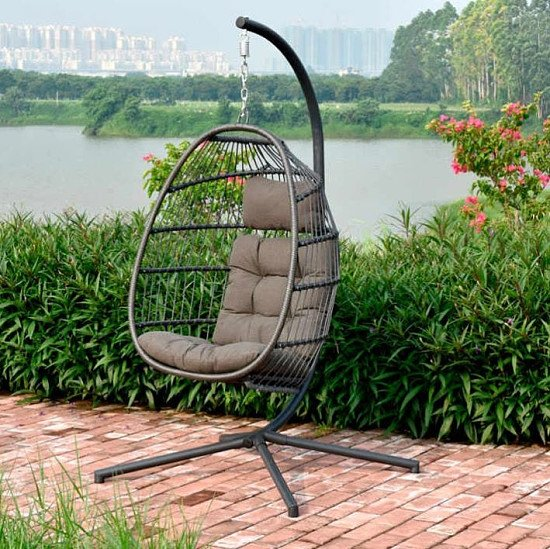 Single Folding Hanging Cocoon Seat - £349.99!