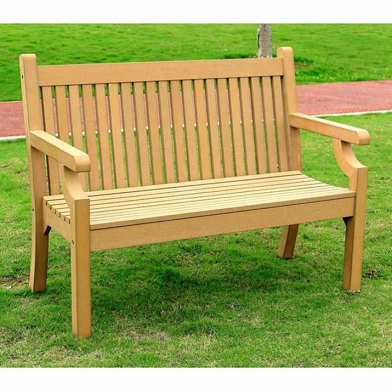 2 Seater Zero Maintenance Bench - Teak: £349.99!