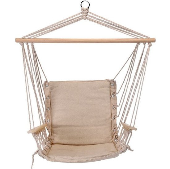 Hanging Hammock Chair - Cream: £49.99!