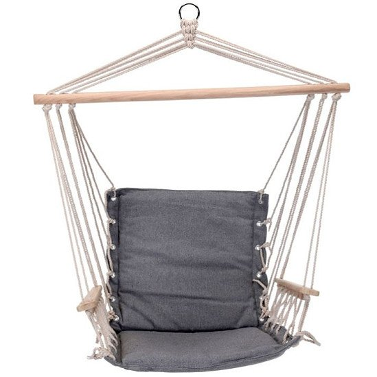 Hanging Hammock Chair - Grey: £49.99!