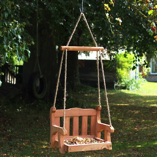 SAVE - SWINGSEAT BIRD FEEDER!