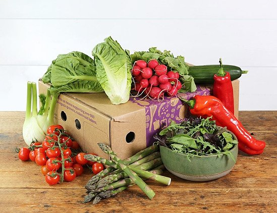Summer Salad & Veg Box, Organic - £15.00!