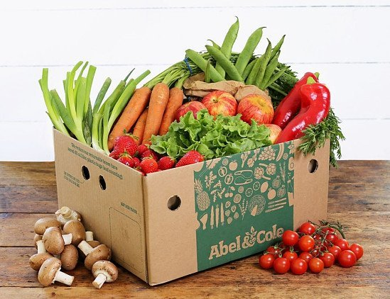 Medium Fruit & Veg Box, Organic - £19.95!
