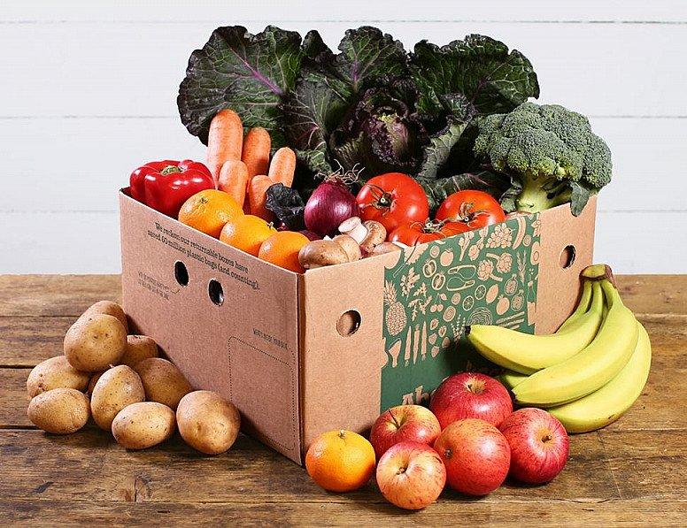 Large Fruit & Veg Box, Organic - £27.50!