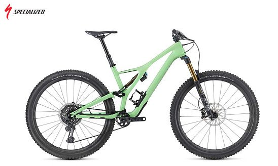 SAVE- Specialized S-Works Stumpjumper 29 2019 Mountain Bike Green