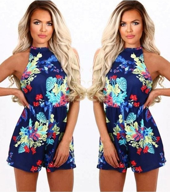 HAlter Neck Playsuit