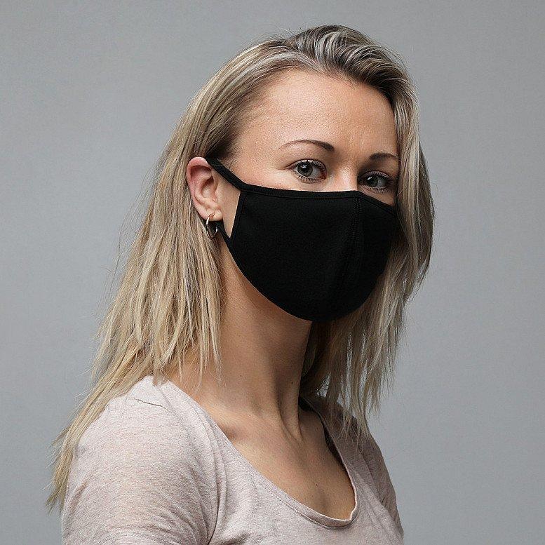 Stay Healthy, Stay Safe: 3 pack Masks - Black