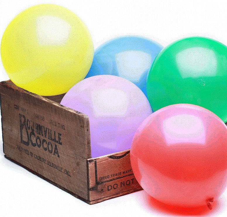Coming Up: Plastic Free July - Biodegradable Balloons: Mixed Colours (10 pack)