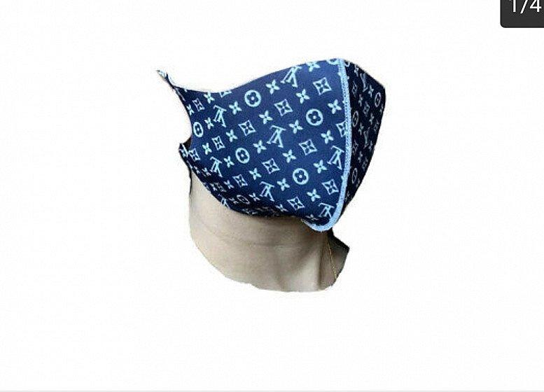 Designer Face Mask - Blue