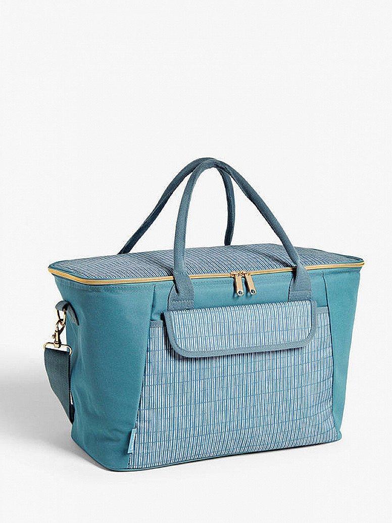 Picnic Month: John Lewis & Partners Meadow Extra Large Picnic Cooler Bag, 30L, Blue/Multi - £25.00!