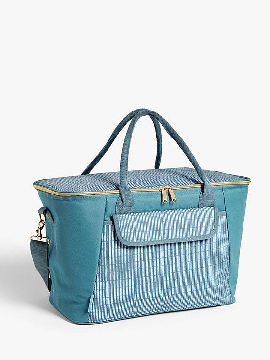 Picnic Month: John Lewis & Partners Meadow Extra Large Picnic Cooler Bag, 30L, Blue/Multi - £25.00!