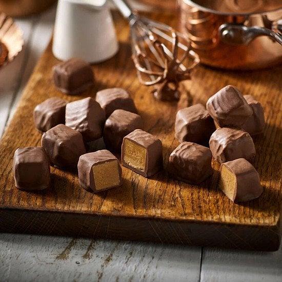 3 FOR £20.00 - Chocolate Smothered Fudge Box (350g): £7.00!