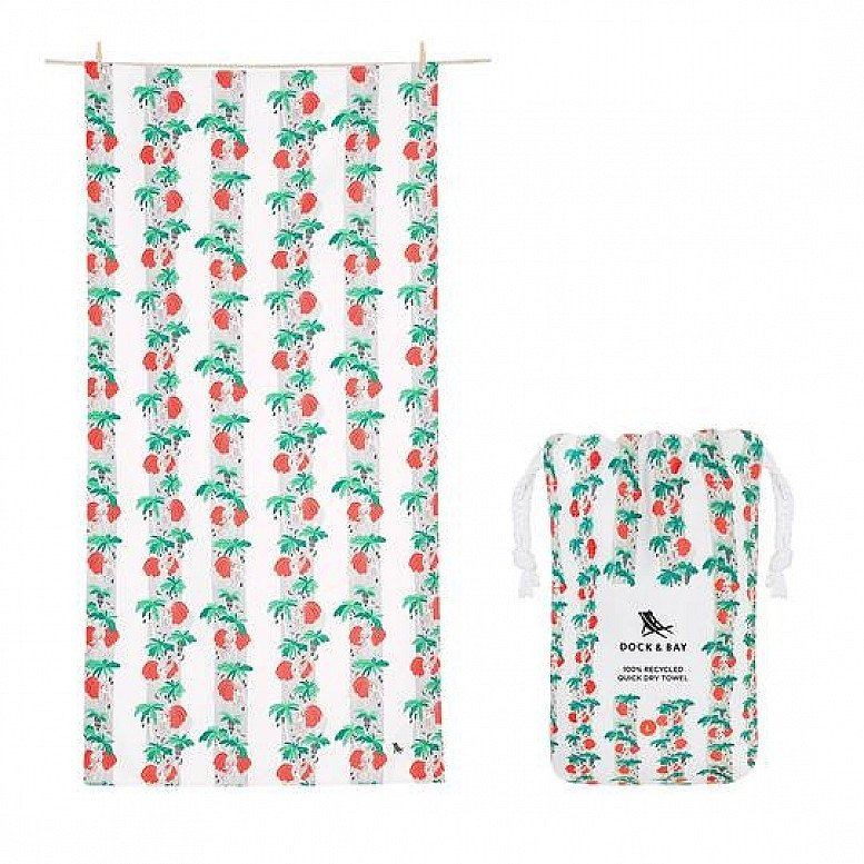 Plastic Free July - QUICK DRY BEACH TOWEL - JUNGLE COLLECTION: £21.00!