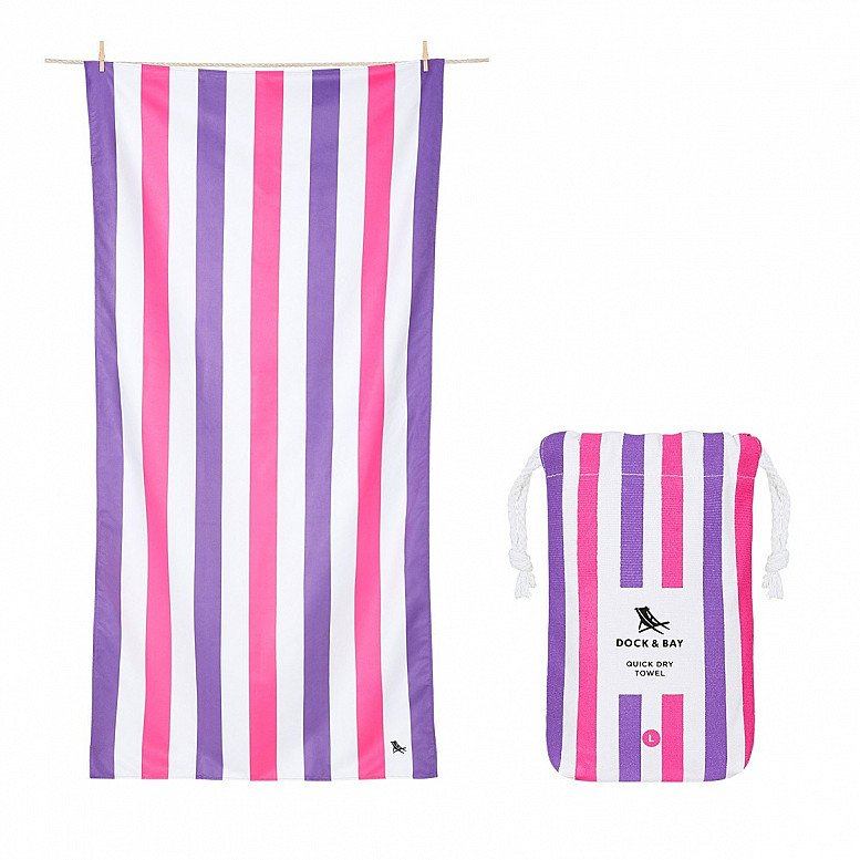 In celebration of Plastic Free July - QUICK DRY BEACH TOWEL, SUMMER COLLECTION: £21.00!