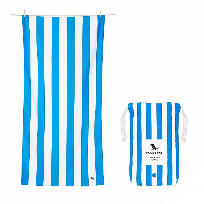 In celebration of Plastic Free July - QUICK DRY BEACH TOWEL, CABANA COLLECTION: £21.00!