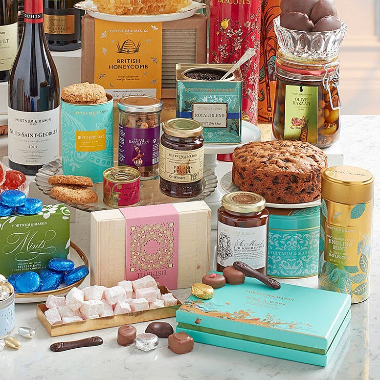 At Fortnums, you can Create Your Own Hamper!