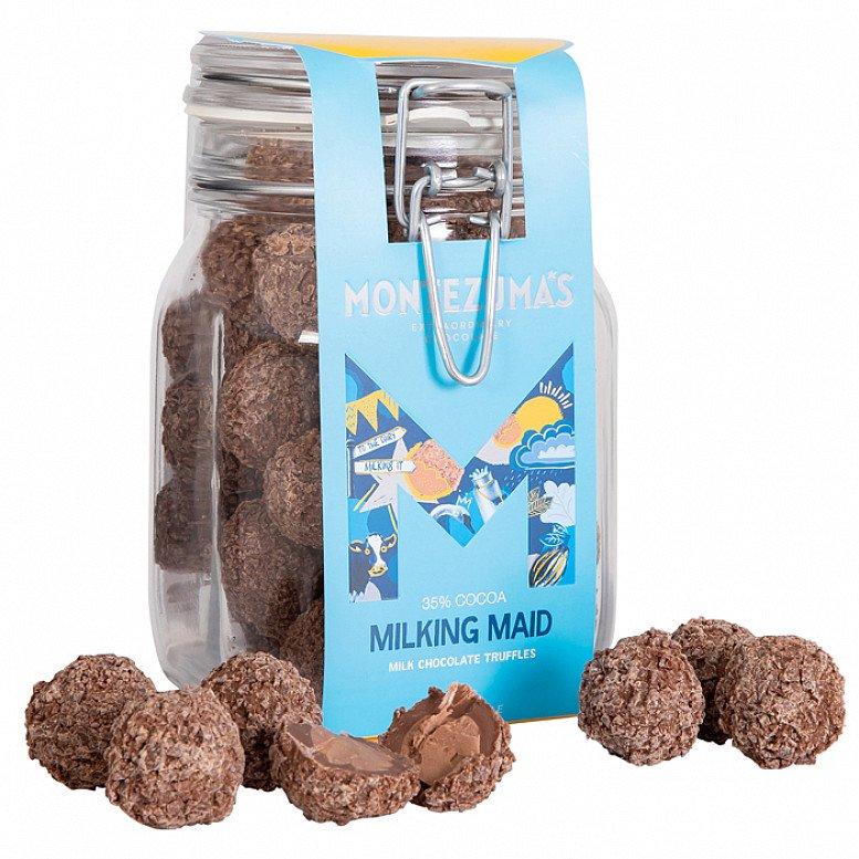 National Chocolate Day - MILKING MAID TRUFFLE JAR