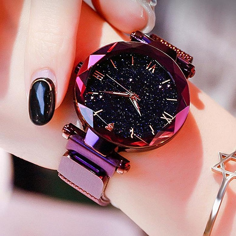 Luxury Stary Sky Woman Watch