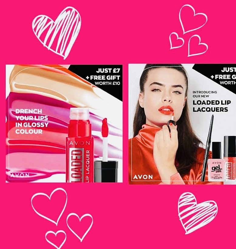 New lip quenching glossy colour