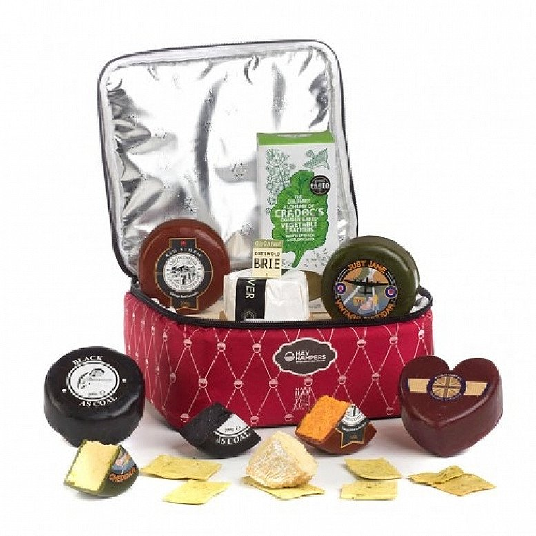 Perfect for National Picnic Month - Ultimate British Cheese Coolbag: £49.90!