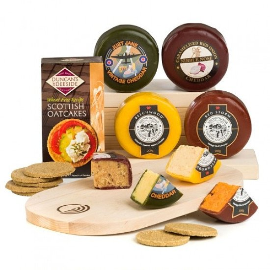 Perfect for National Picnic Month - Truckle Quadruple Cheeseboard: £34.90!