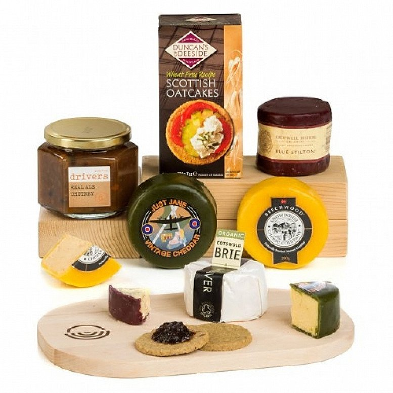 Perfect for National Picnic Month - The Complete British Cheese Board: £42.50!