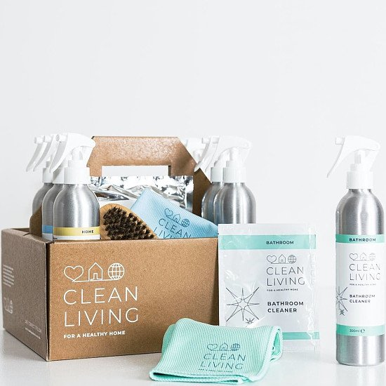 In celebration of Plastic Free July - CLEAN LIVING COMPLETE CLEANING CADDY!