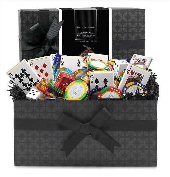 National Chocolate Day - Poker Night Chocolate Novelty Mini Gift Hamper - £26.33