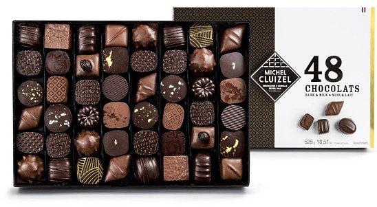 National Chocolate Day - Milk & Dark Luxury Chocolate Gift Box -