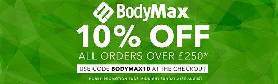 10% Off Bodymax Fitness