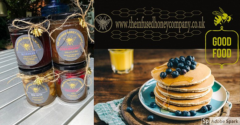 Infused Natural pure Honey