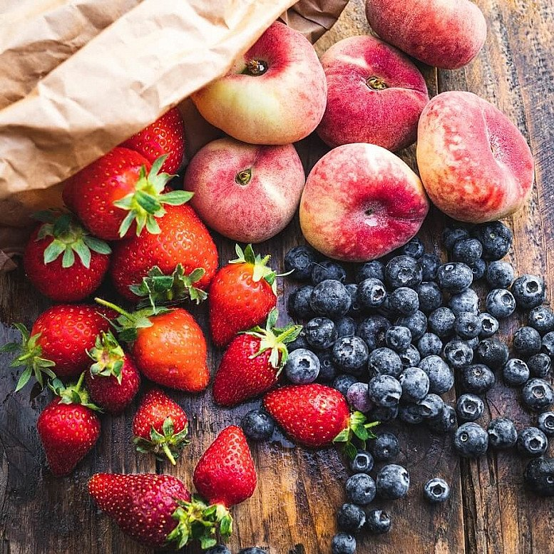 Organic Summer fruit bag - £9.95!