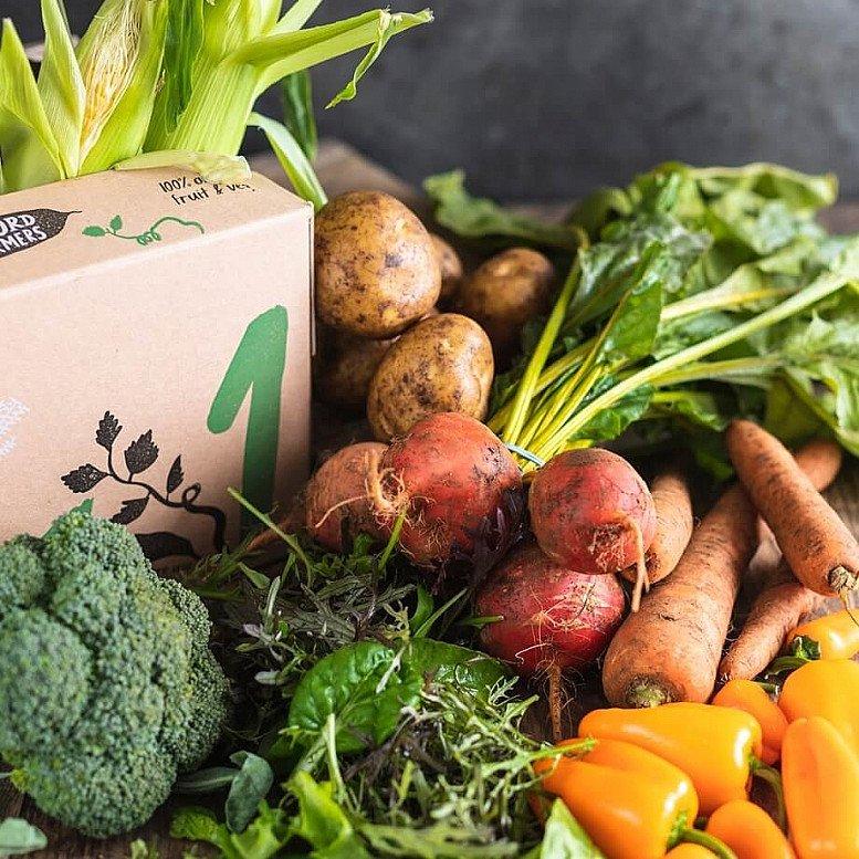 Organic Small seasonal veg box: £12.65!