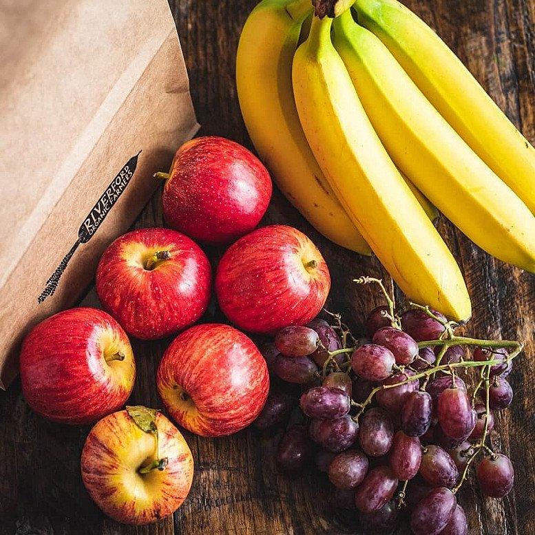 Organic Fruit bag: £8.45!