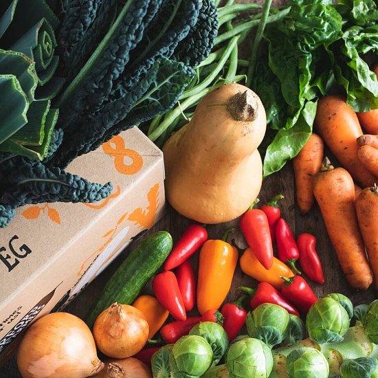 Organic Quick veg box, large: £22.35!