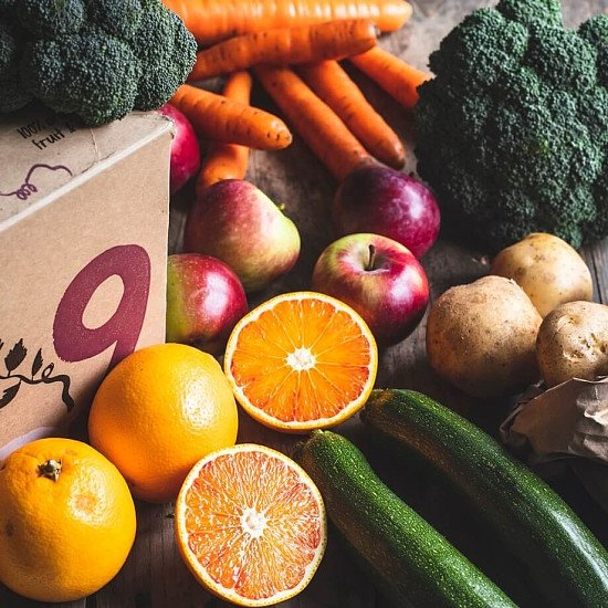 Organic Seasonal fruit & veg box, small - £14.65!