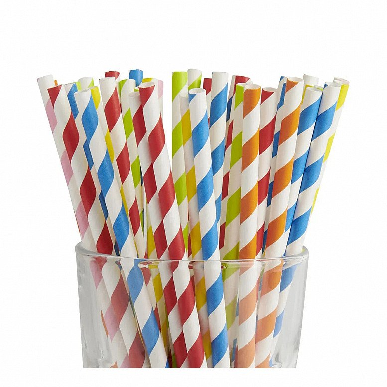 Perfect for National Picnic Month - Wilko Paper Straws 100pk: £2.00!