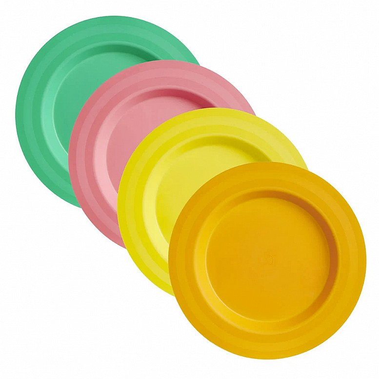 Perfect for National Picnic Month - Wilko Picnic Plates 4pk: £1.00!
