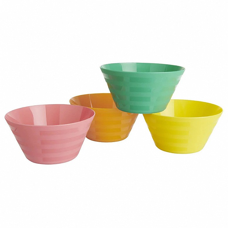 Perfect for National Picnic Month - Wilko Picnic Bowls 4pk: £1.00!