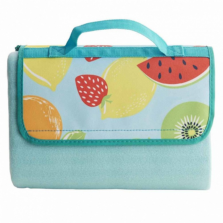 Perfect for National Picnic Month - Wilko Fruits Rug: £8.00!