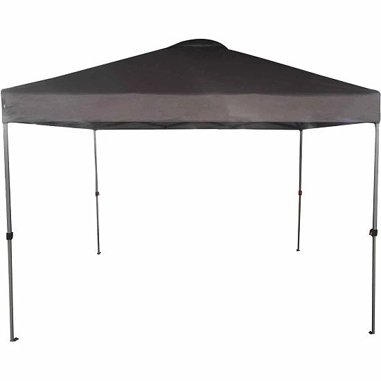 Charles Bentley 3 x 3m Pop Up Gazebo One Touch - Grey: £120.00!