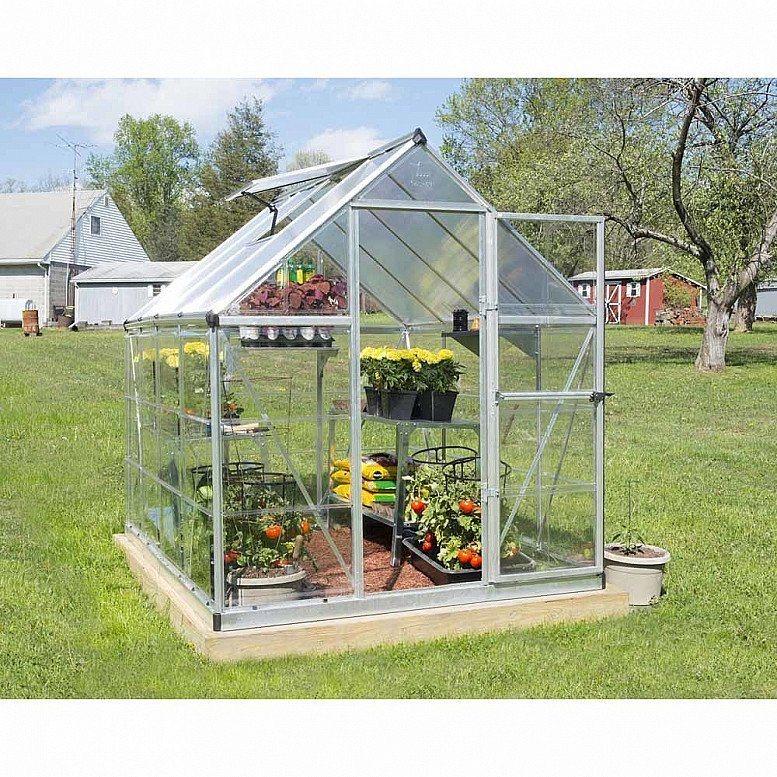 Palram Hybrid Silver 6 x 8ft Greenhouse: £400.00!
