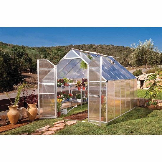 Palram Essence Silver 8 x 12ft Greenhouse: £700.00!