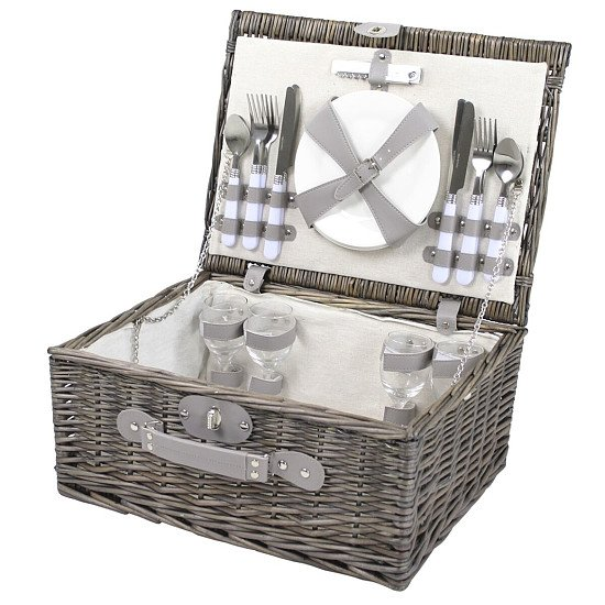Perfect for National Picnic Month - Monaco 4 Person Picnic Hamper, now just £29.99!