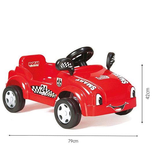Dolu Pedal Racer Smart Car - Red: £39.99!