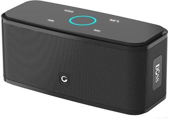 DOSS SOUNDBOX TOUCH CONTROL BLUETOOTH SPEAKER WITH BUILT-IN MICROPHONE
