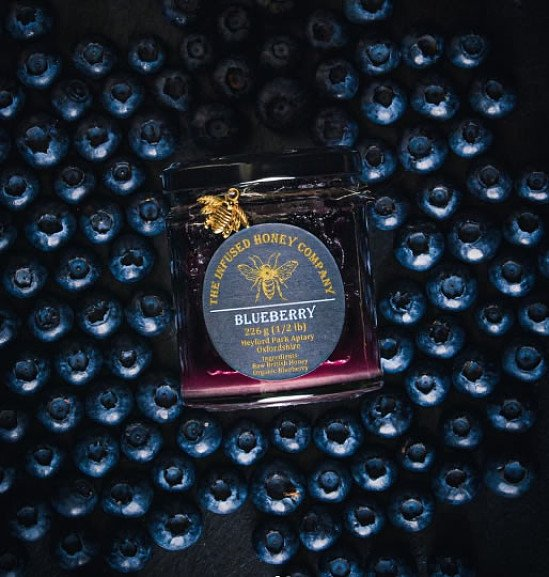 Blueberry Infused Honey